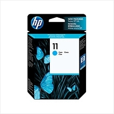 HP 11 Cyan Ink (Genuine) C4836A InkJet 1000 1200 2200  1700 K850