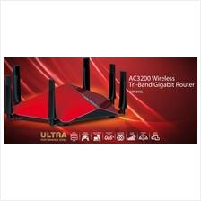 D-LINK WIFI N600 TRI-BAND CLOUD AC3200 GIGABIT ROUTER (DIR-890L) RED