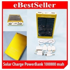 Move PowerBank 100000mAH Portable Solar Mobile Power Bank
