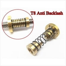T8 Anti Backlash Spring Loaded Nut For 3D Printer