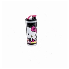 Tupperware Hello Kitty Hello Kitty Giant Tumbler (1) 470ml - Black
