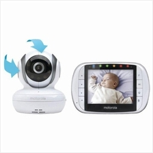 MOTOROLA MBP36S - Remote Wireless Video Baby Monitor (Pan / Tilt)