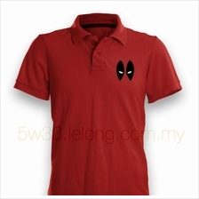 Deadpool Red Polo Shirt