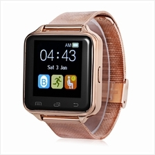 D80 SMART WATCH WITH ANTI LOST PEDOMETER AND SLEEP MONITOR (GOLDEN)