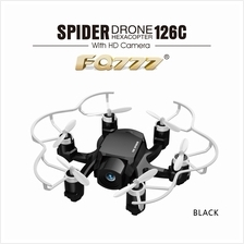 126C MINI SPIDER DRONE 2.4G RC HEXACOPTER 6 AXIS GYRO 3D ROLL ONE KEY RETURN D