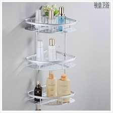 Bathroom Organizer Shelf 3 Tier Stainless Steel Durable