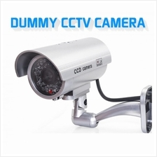 CCTV Dummy Camera Outdoor Battery Operated Blinking Lights Durable AX-