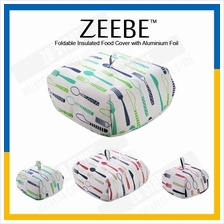 ZEEBE Foldable Insulated Food Cover with Aluminium Foil Hot Food