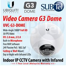 UVC-G3-Dome Ubiquiti Video Camera Full HD IP CCTV UBNT 1080p