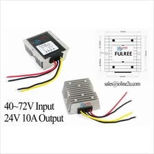 48V 60V 72V to 24V 10A 240w power converter step down Sealed Buck IP68 4r Sola