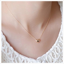 YOUNIQ-Basic Korean Lovey Gold Necklace