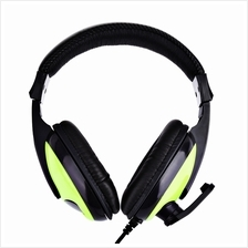 T155 3.5MM DEEP BASS AUDIO PC GAMING HEADSET OVER-EAR HEADPHONES WITH MIC (GRE