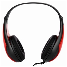 FE - 115 3.5MM DEEP BASS AUDIO PC GAMING HEADSET DRIVE-BY-WIRE HEADPHONES (BLA