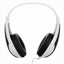 FE - 115 3.5MM DEEP BASS AUDIO PC GAMING HEADSET DRIVE-BY-WIRE HEADPHONES (WHI