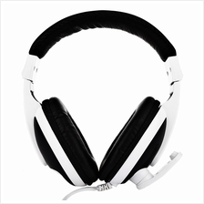 T155 3.5MM DEEP BASS AUDIO PC GAMING HEADSET OVER-EAR HEADPHONES WITH MIC (BLA