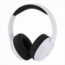 306B WIRELESS BLUETOOTH 4.0 HEADBAND SUPER BASS OVER-EAR MUSIC HEADPHONES (WHI