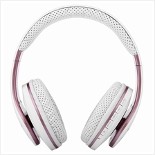 211B 3.5MM PLUG BLUETOOTH FM PORTABLE HEADSET HEADPHONES (WHITE)