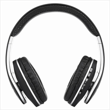 211B 3.5MM PLUG BLUETOOTH FM PORTABLE HEADSET HEADPHONES (BLACK)