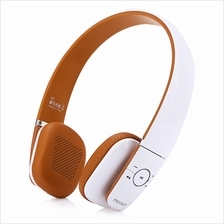 X1 UNIVERSAL BLUETOOTH V4.0 WIRELESS HEADSET STEREO MUSIC HEADPHONES (WHITE)