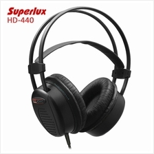 HD-440 BOOMING BASS DYNAMIC CLOSED-BACK HEADSET WITH AUTO-ADJUSTABLE HEADBAND