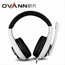 OVANN X3 PROFESSIONAL GAMING HEADSETS WITH MICROPHONE (WHITE AND BLACK)