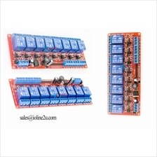 5~30V 8 Channel 5V 12V 24V Optocoupler isolated Relay Module board Wide Voltag