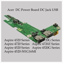 Acer Aspire 4220 4320 4520 4720 5803 Z03 USB DC Power jack Board DA0Z0