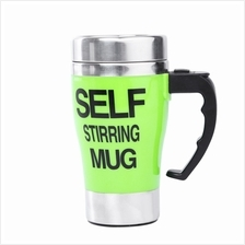 STAINLESS STEEL AUTOMATIC MIXING CUP SELF STIRRING MILK COFFEE MUG ELECTRIC ST