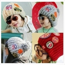 01269 Korean models paternity fashion label wool fans (adults and children can