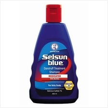 Selsun Blue Medicated Shampoo 200ml (for Dandruff/ Itchy Scalp)