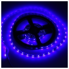 5M 300 LEDS SMD 3528 FLEXIBLE STRIP LIGHT FOR DECORATION (BLUE, US PLUG)