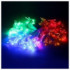 304 LEDS CHRISTMAS STRING FAIRY LIGHT WINDOW CURTAIN LIGHTING (COLORFUL, EU PL