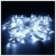 304 LEDS CHRISTMAS STRING FAIRY LIGHT WINDOW CURTAIN LIGHTING (WHITE, CHINESE