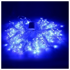 304 LEDS CHRISTMAS STRING FAIRY LIGHT WINDOW CURTAIN LIGHTING (BLUE, EU PLUG)