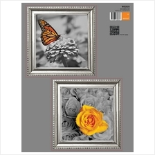 FRAME STICKER - FLOWER  & BUTTERFLIES