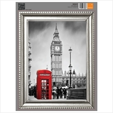 FRAME STICKER - RED TELEPHONE BOOTH  & BIG BEN IN LONDON