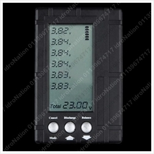 3 in 1 LCD Discharger Balancer Meter Tester 2-6S LiPo Li-Po Battery