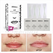 ANDMETICS Lip Wax Strips (8 Strips + 4 Oil Wipes)