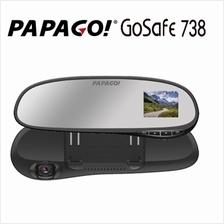 PAPAGO! GOSAFE 738 CAR DASH CAMERA DIGITAL CAMCORDER