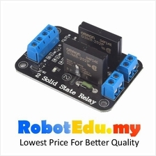 2 Channel Way Omron SSR Solid State Relay Module ; Arduino 240V AC
