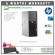 HP Z400 Workstation Intel Xeon 4Cores W3550 4GB 500GB HDD Quadro 4000