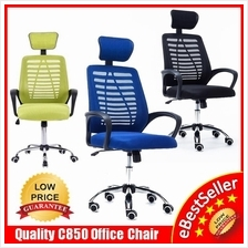 Large Ergonomic Swivel Mesh Comfort Home Office Chair Kerusi Pejabat