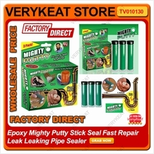 Epoxy Mighty Putty Stick Seal Fast Repair Leak Leaking Pipe Sealer