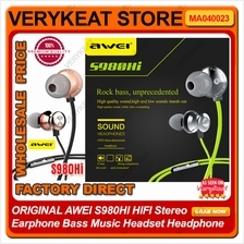 ORIGINAL AWEI S980HI HIFI Stereo Earphone Bass Music Headset Headphone