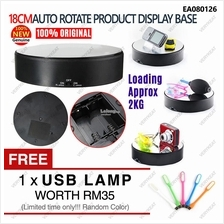 18cm Rotate TurnTable 2Speed Display Base Stand for Jelwery Art Craft