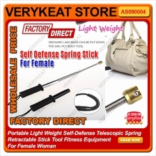 Light Weight Self-Defense Spring Retractable Stick Tool For Female