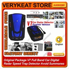 v7 Full Band Car Digital Radar Speed Trap Detector Avoid Summones