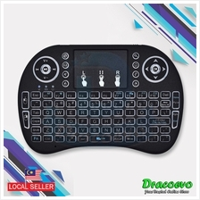 Backlit Rii i8 Air Mouse Mini Wireless Keyboard Touchpad Android TV BOX PC Sma