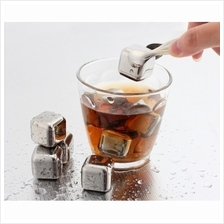 Stainless Steel Whisky Stone 6 pieces