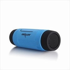 3 in 1 Water-Resistant Bluetooth Speaker Power Bank  & Torchlight For